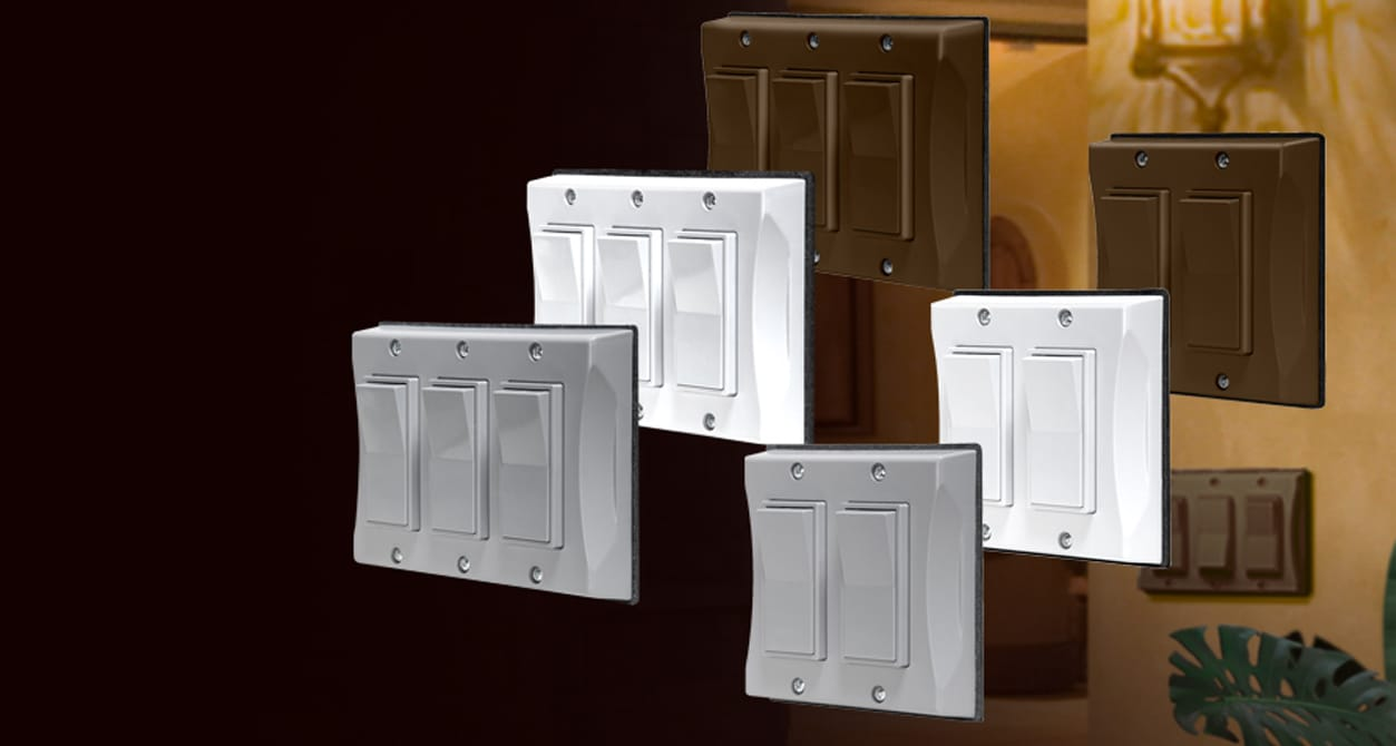 Hubbell Weatherproof Decorator Switch Cover Video