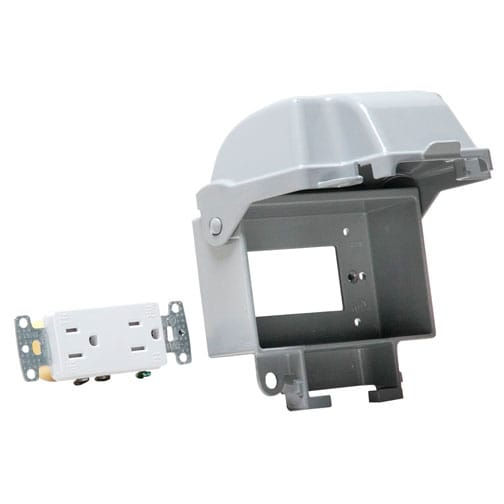 Extra Duty Metal In-Use Cover Kit