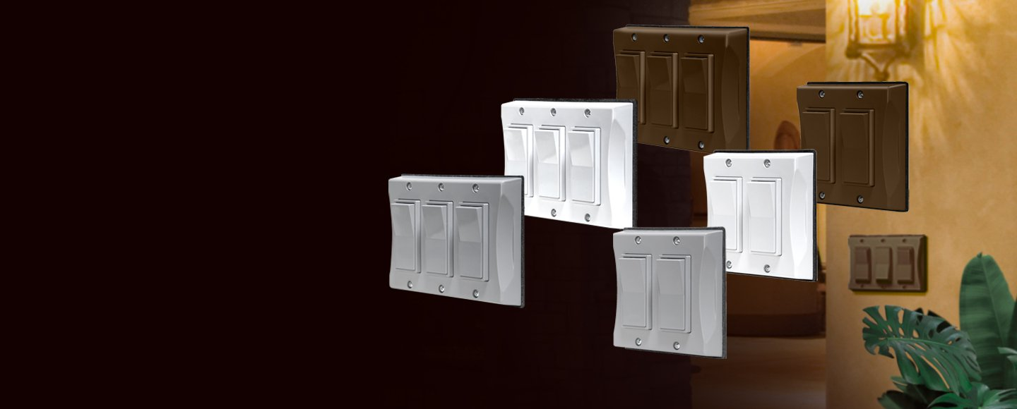 The First Weatherproof Decorator Style Switch Covers