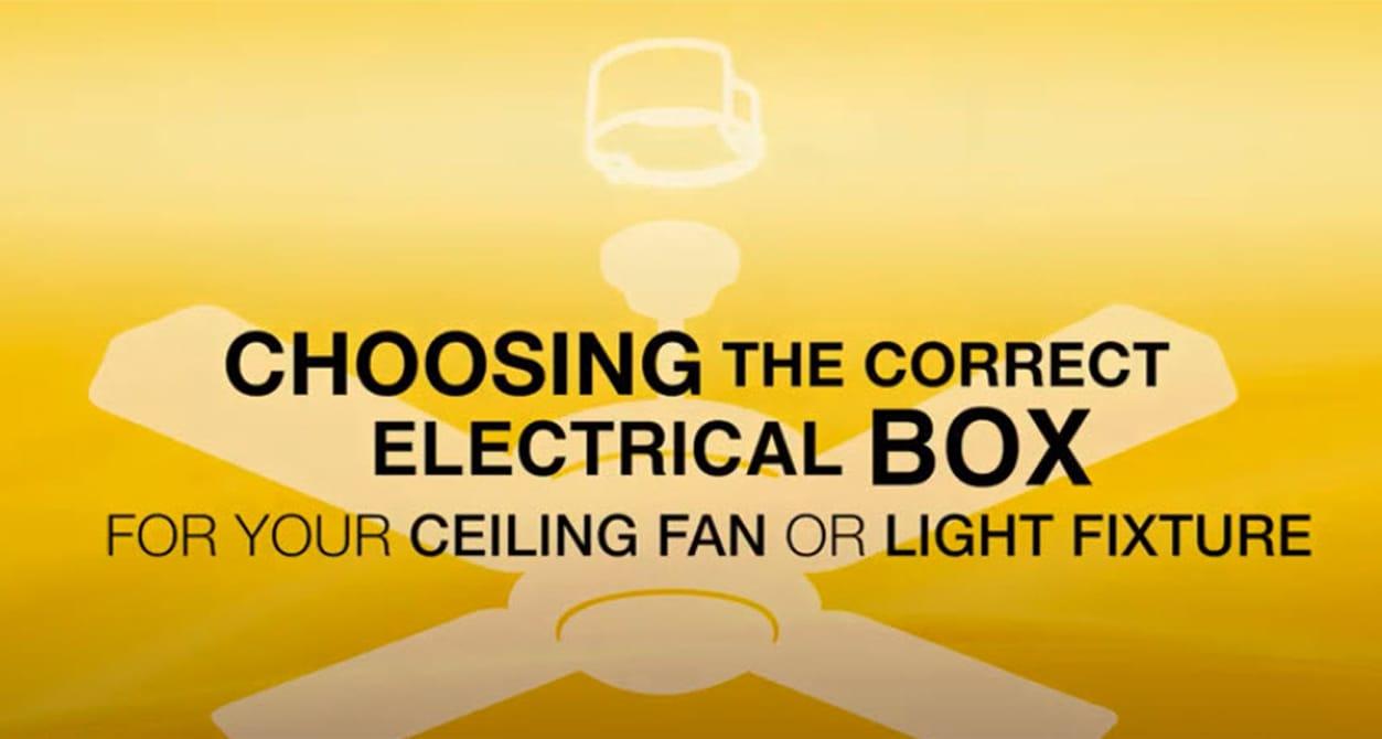 Choose Ceiling Fan Video