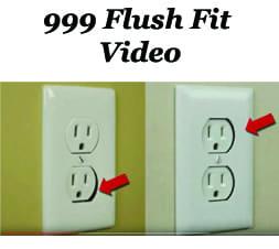 999 Flush Fit plate