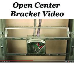 Open Center Brackets