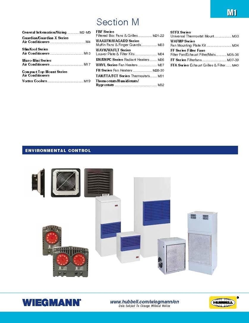 Wiegmann Solydine M28 Wiring Diagram Environmental Controls