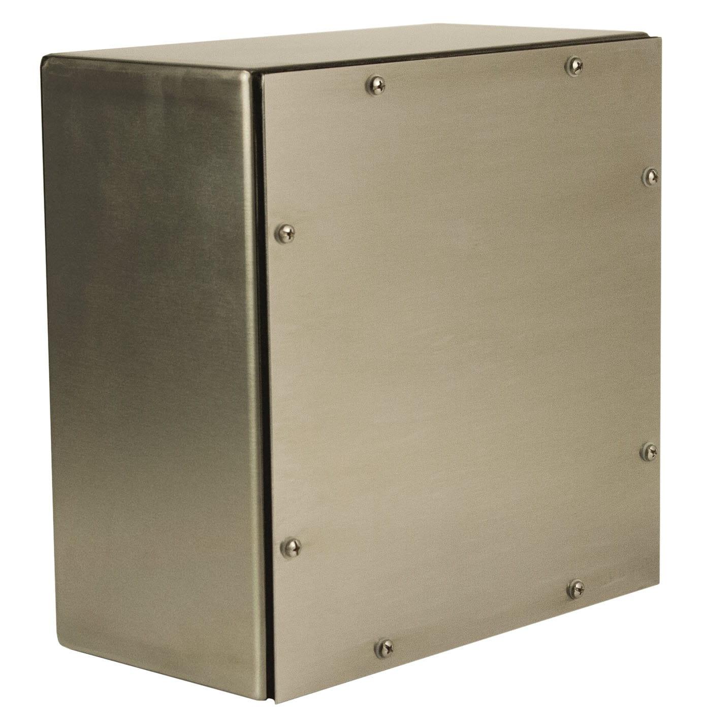 NEMA 4X Stainless Steel Screw Cover