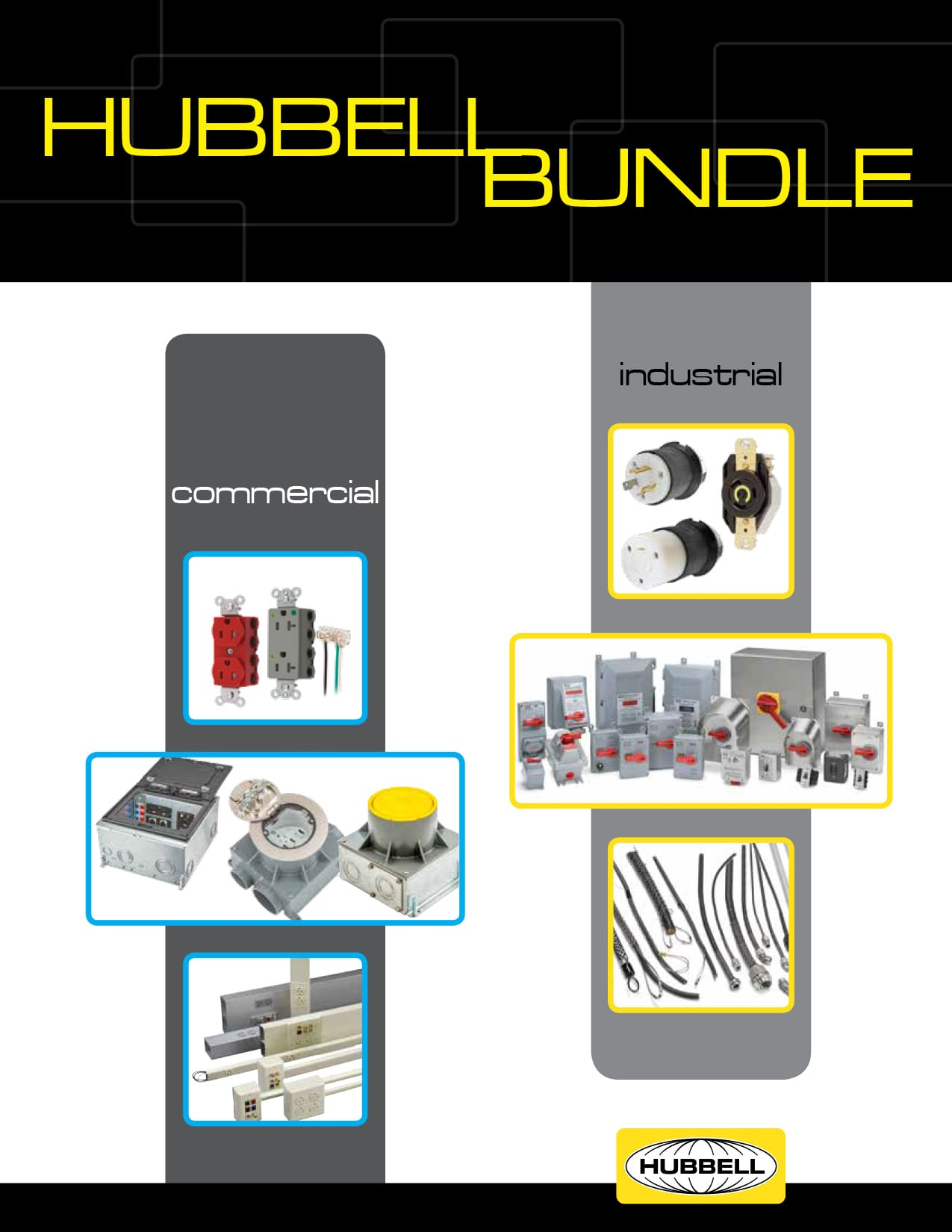 Commercial and Industrial Hubbell Bundle