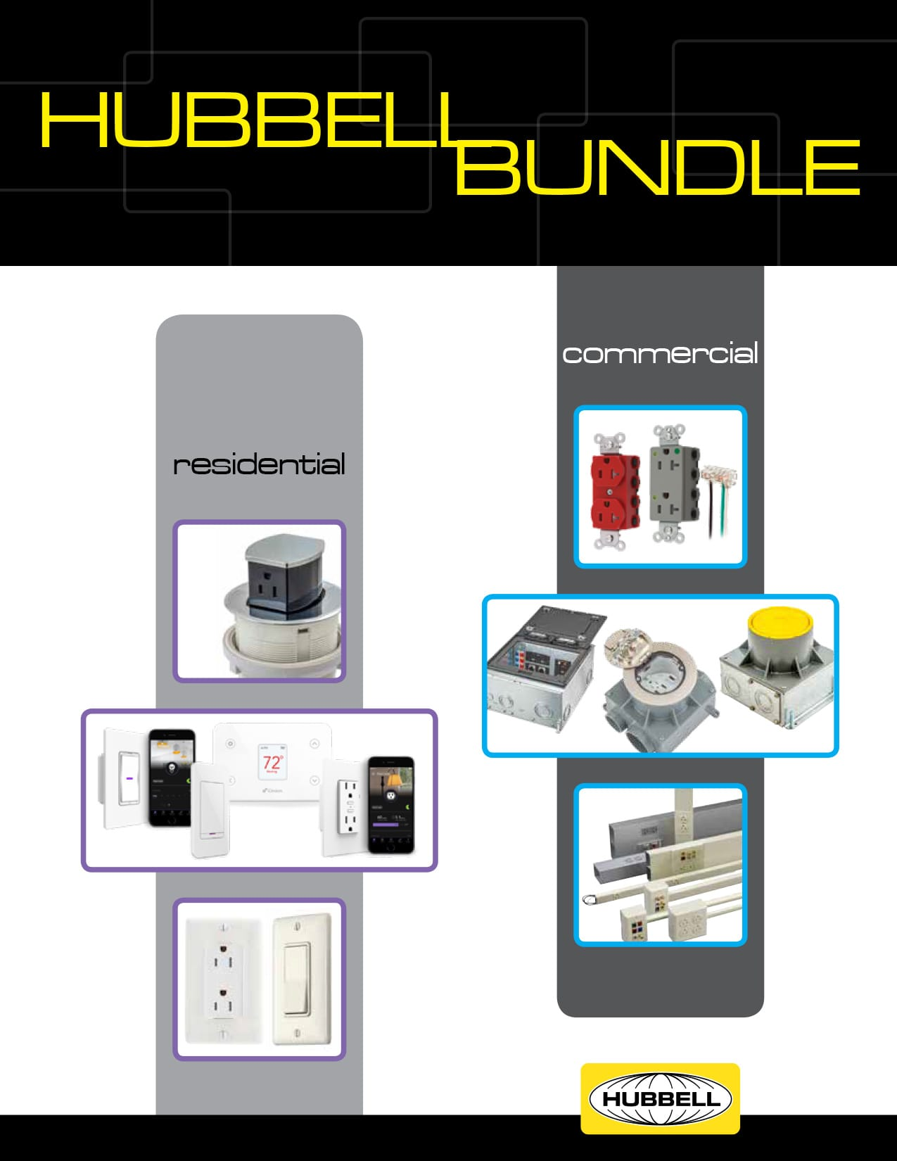 Commercial and Residential Hubbell Bundle