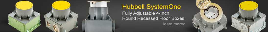 Hubbell Floor Boxes