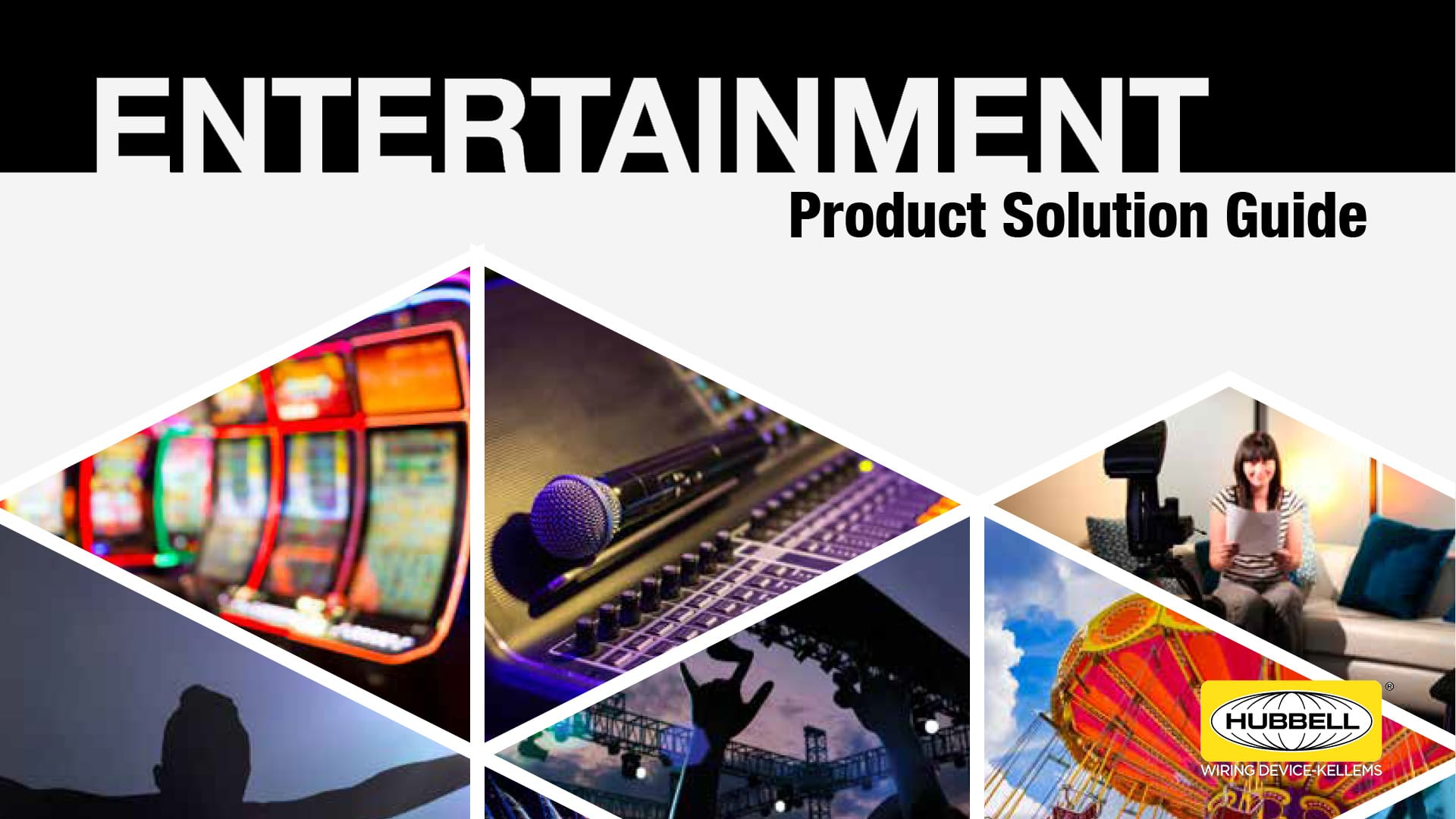 Hubbell Entertainment Product Guide