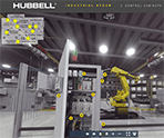 Hubbell 360-Degree eTour of an Industrial Facility