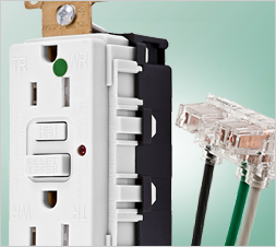 SNAPConnect® Receptacles