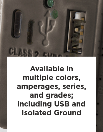 Hubbell Snap Connect Receptacles