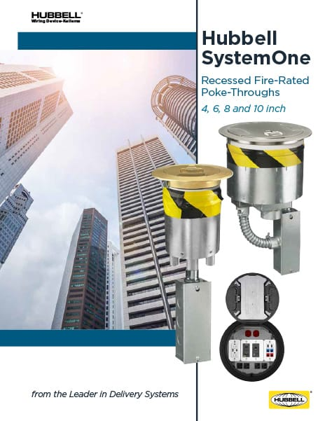 SystemOne Fire-Rated Poke-Throughs Brochure
