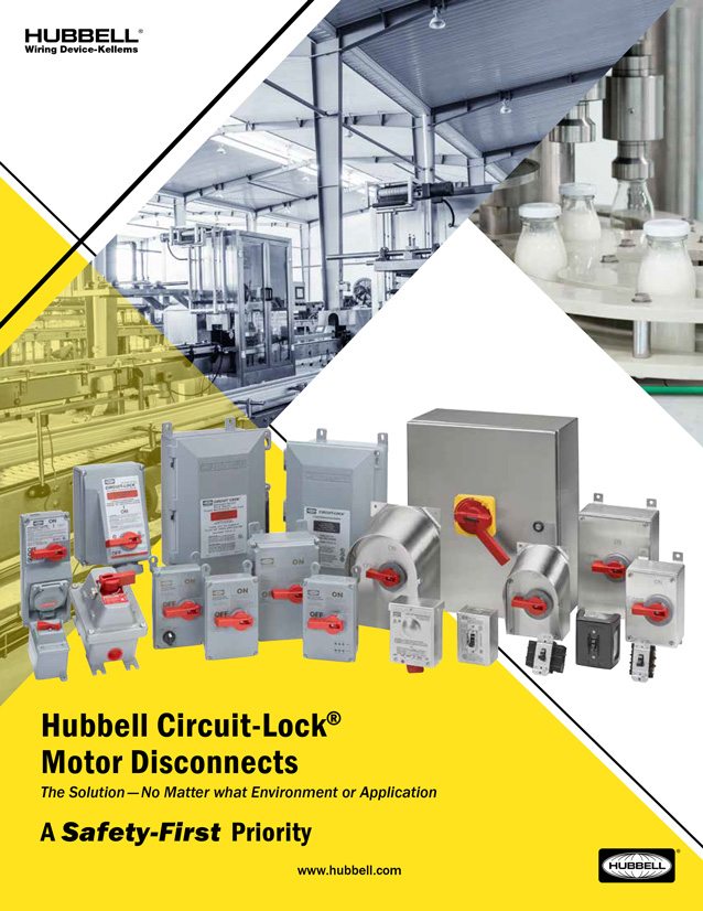 Hubbell Circuit-Lock® Motor Disconnects