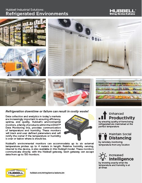 Refrigerated Environments Flyer