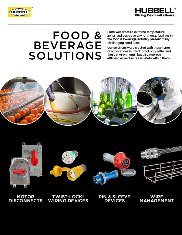 Food & Beverage Facility Quick Guide