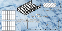 Wire Basket Tray Customer Drawings