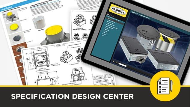 Hubbell Spec design center