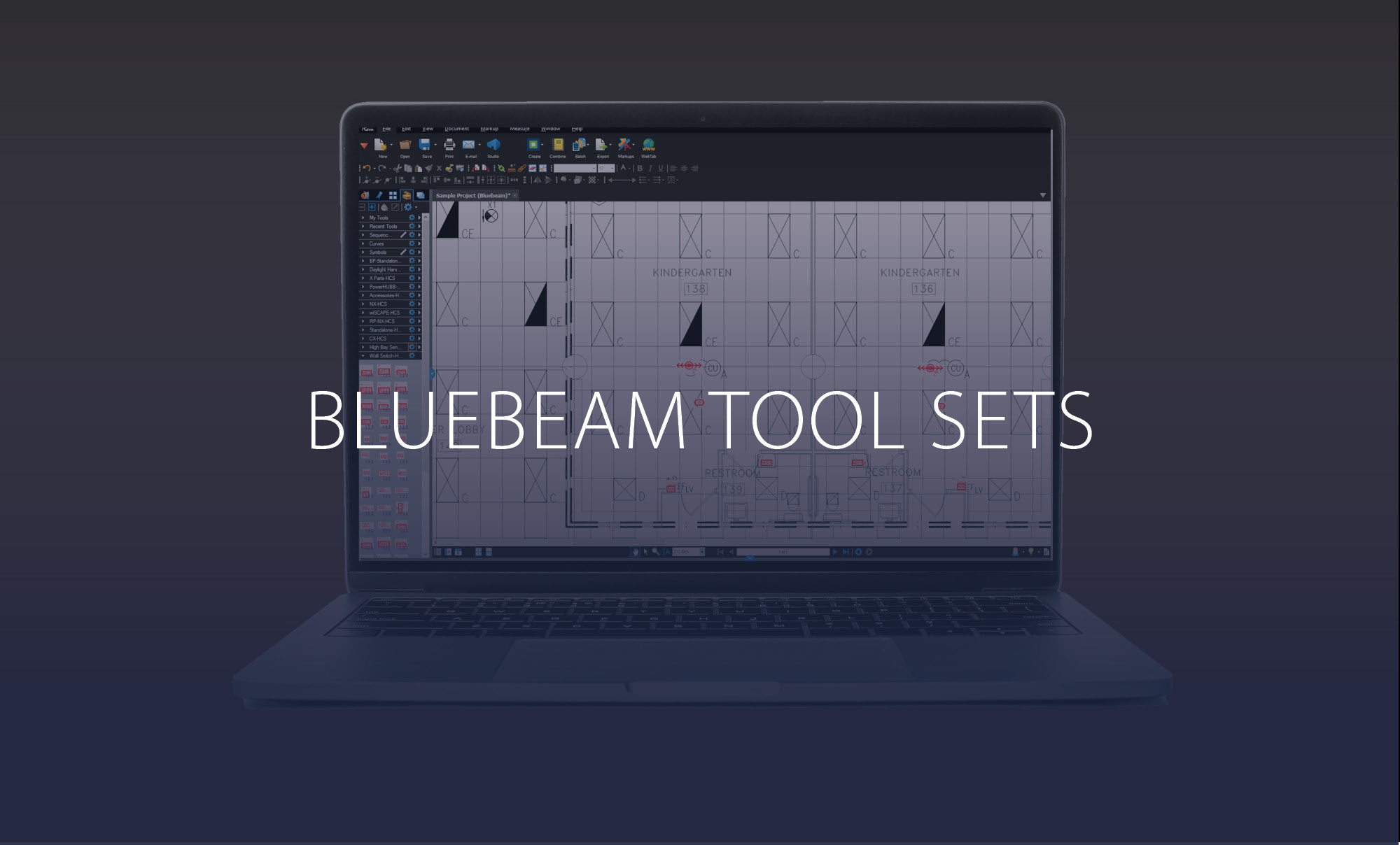 Bluebeam Tool Sets