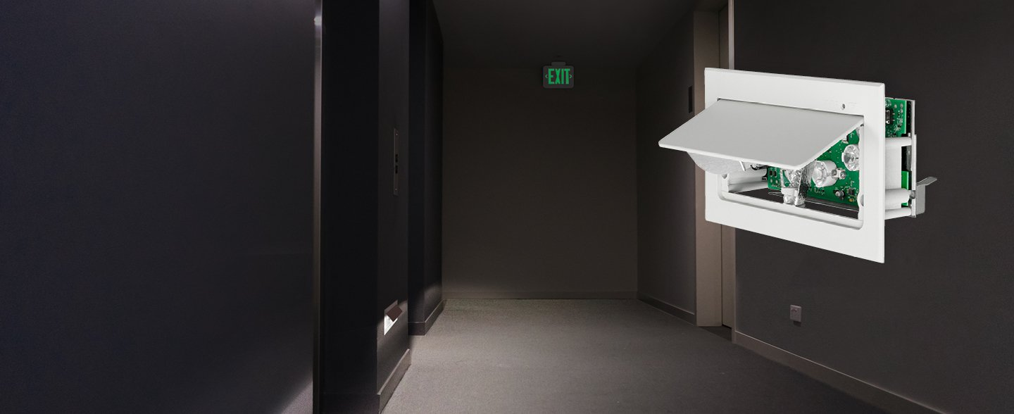 Concealed Low-Level LED Recessed Emergency Luminaire