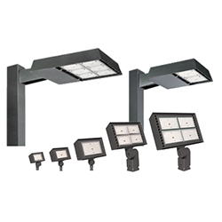 Hubbell Outdoor Lighting's Ratio family