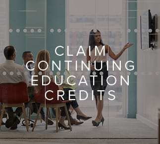 Claim ACES Continuing Education Credits