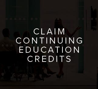 Claim ACES Continuing Education Credits Dark Hover