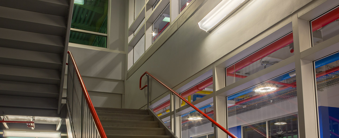 You Can Trust Hubbell Lighting For All Your Stairwell Lighting Needs.