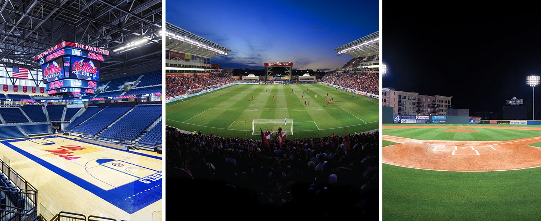 Sports Complexes Spotlight Banner