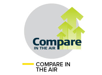Compare in air