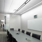 Open office and conference room