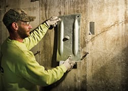 Basement Wall Repair