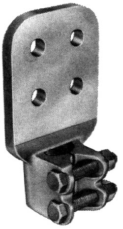 HPS HDSF301D3412 Stud, Brz BoltedFlat
