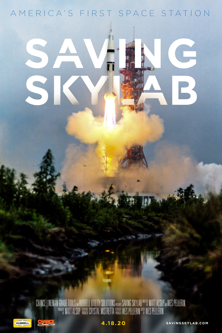Saving Skylab Poster