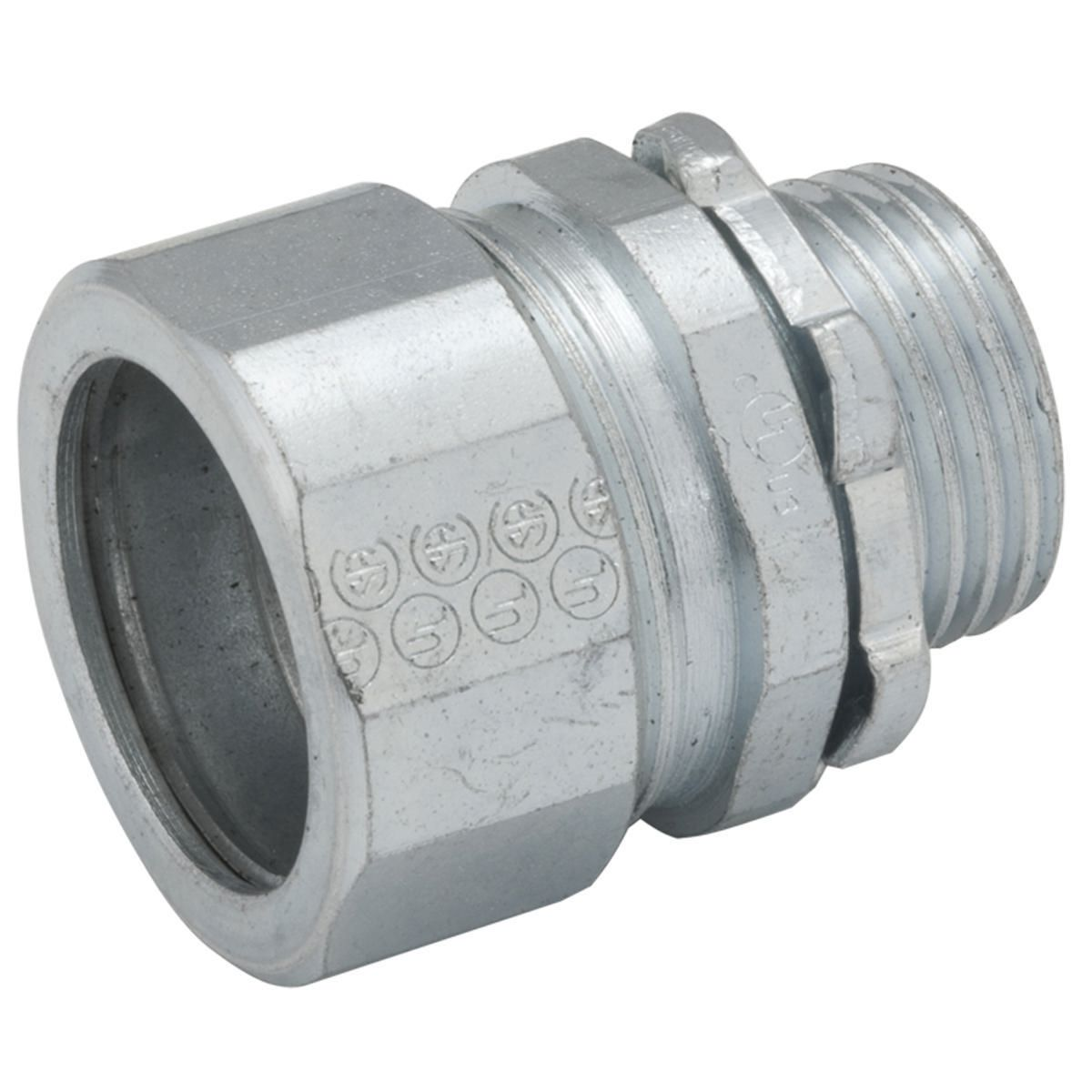 RGD/IMC COMPR CONNECTOR 2 IN STEEL