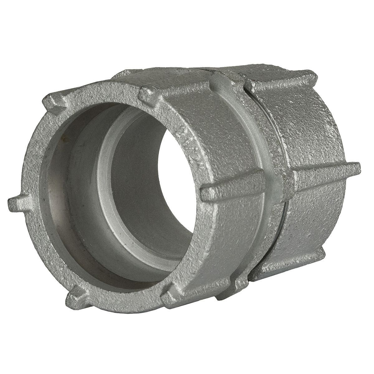 RGD/IMC COMPR COUPLING 4 IN MALL IRON