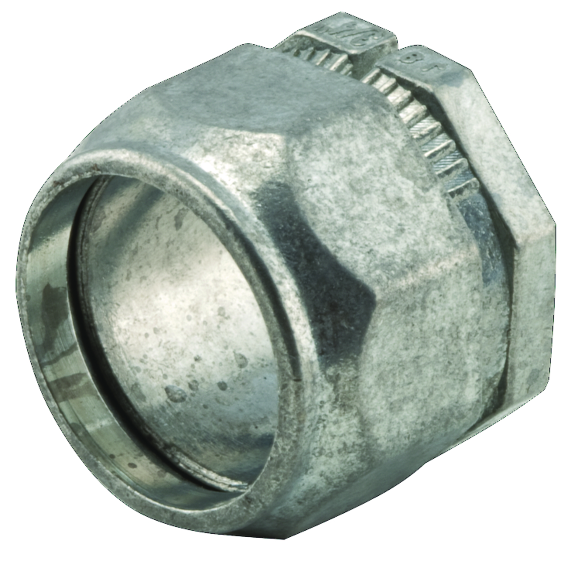 CONNECTOR EMT 2PC 1/2 IN DIE CAST ZINC