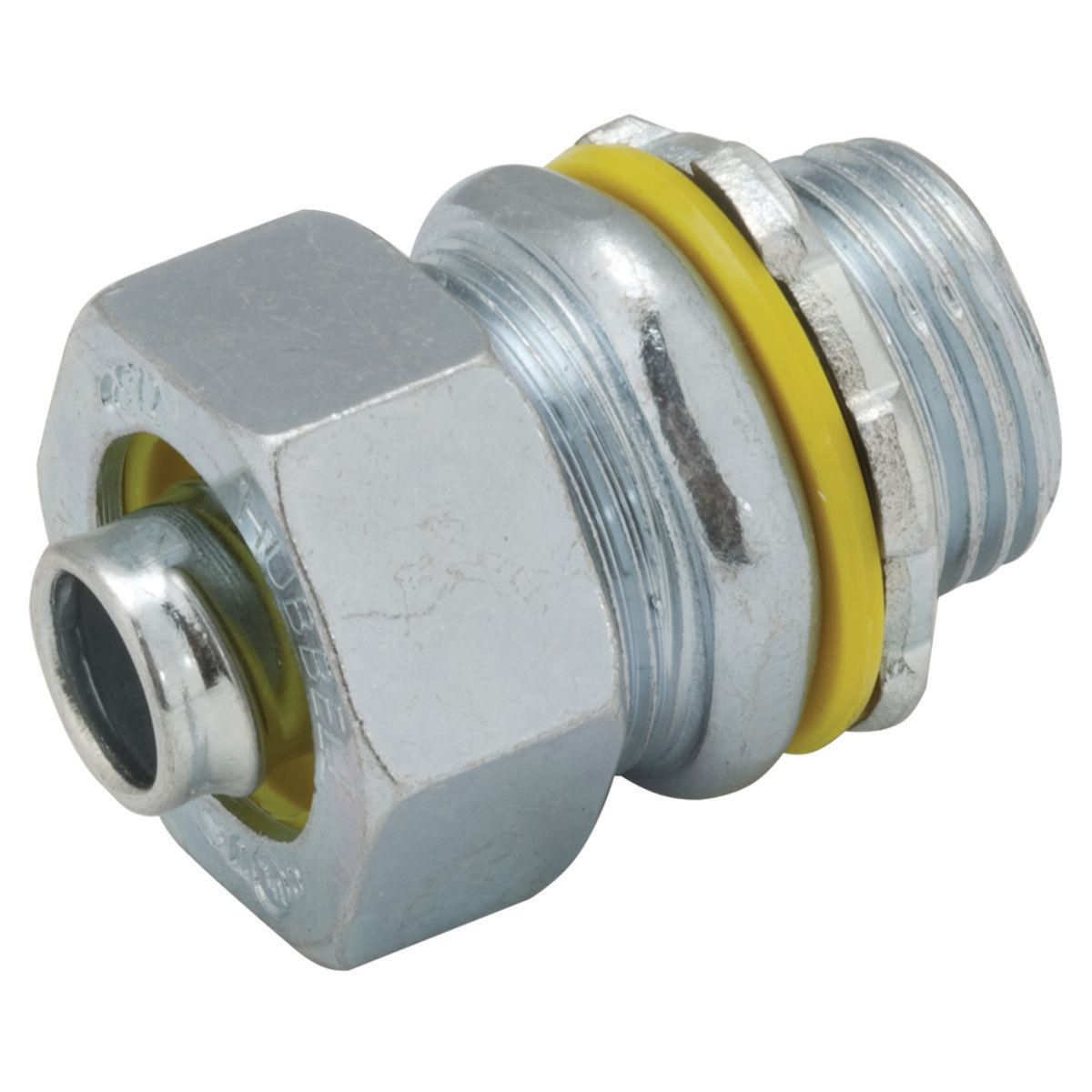 LIQUIDTIGHT CONCTR 3/8IN STEEL, BARCODED