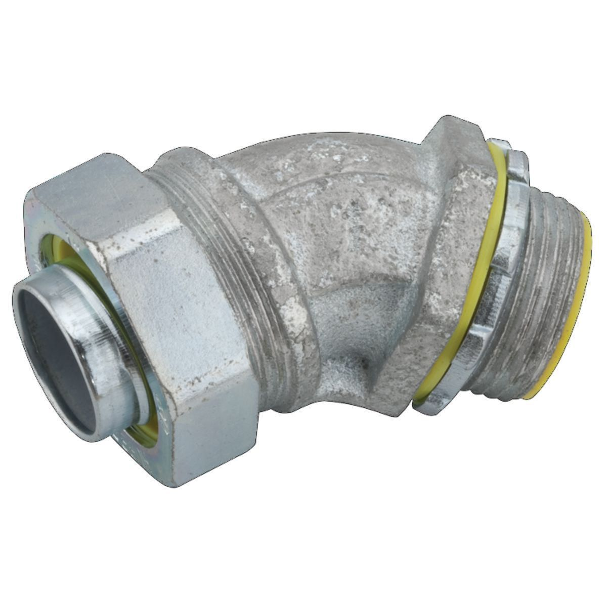 LIQUIDTIGHT CONN 45 INSUL 2 IN STEEL