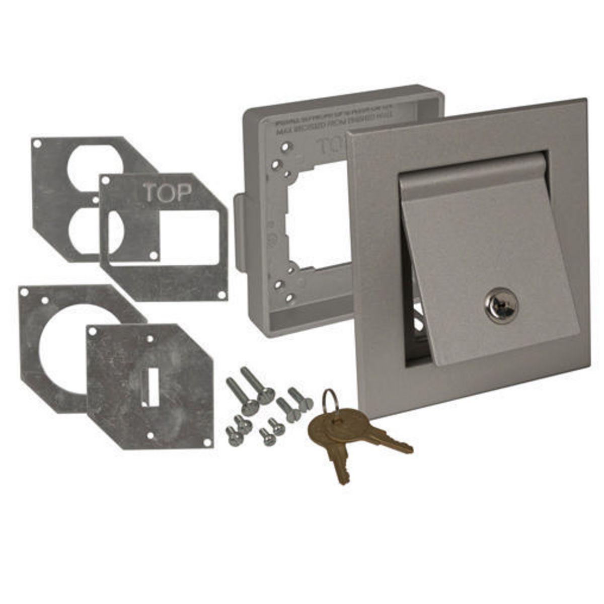 Electrical Weatherproof Lock Box: 4600RAC