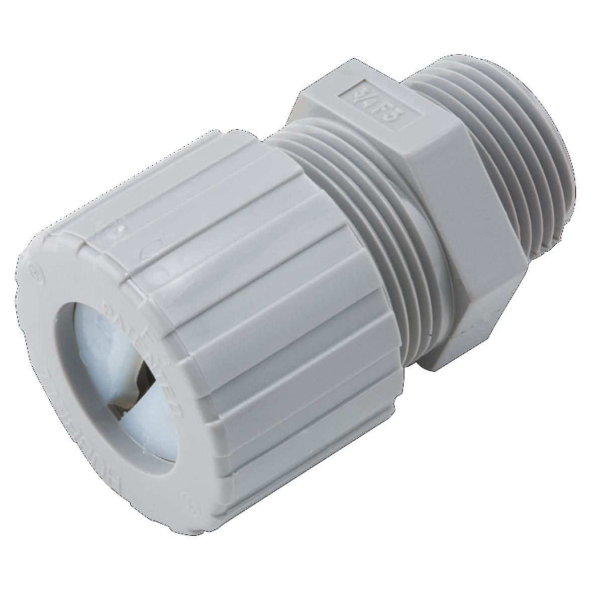 CONNECTOR UF LQTGHT 1/2 IN NYLON
