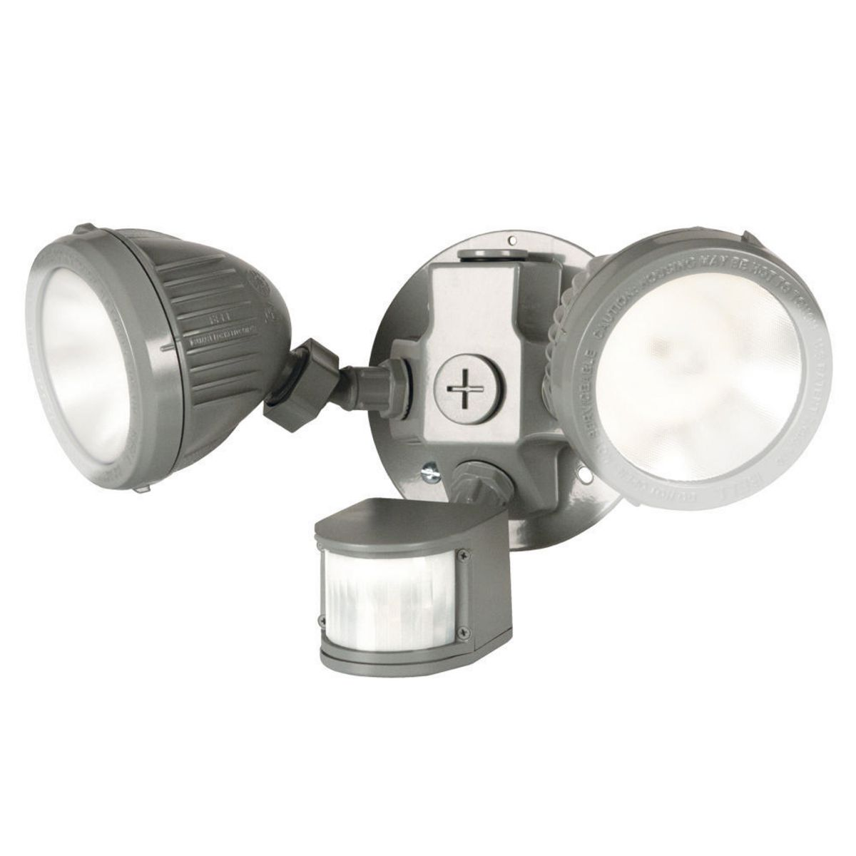 RND BOX/CVR/2 LED LHTS/MOTION SENSR GRAY