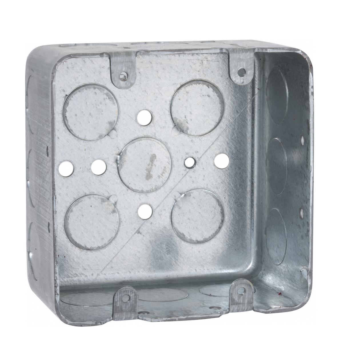 2-GANG HANDY BOX 2-1/8 DEEP 1/2 KO