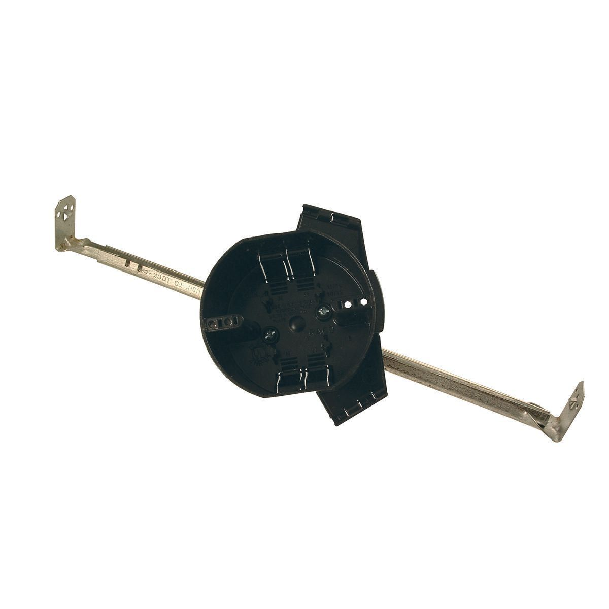 4IN ROUND NM CEILING BOX - SPANNER BAR
