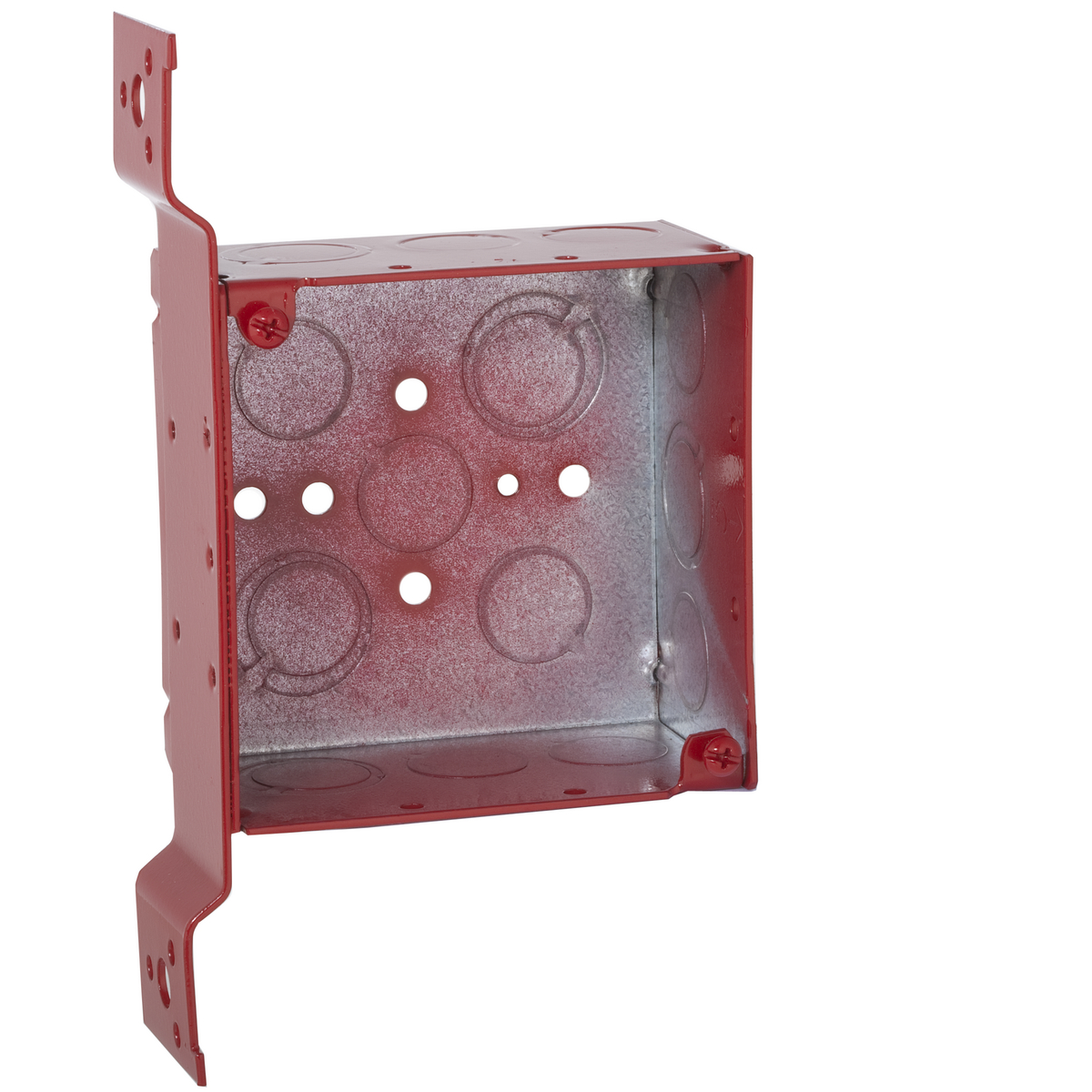 4SQ BOX 2-1/8DP FM-BKT 1/2-3/4 TKO - RED
