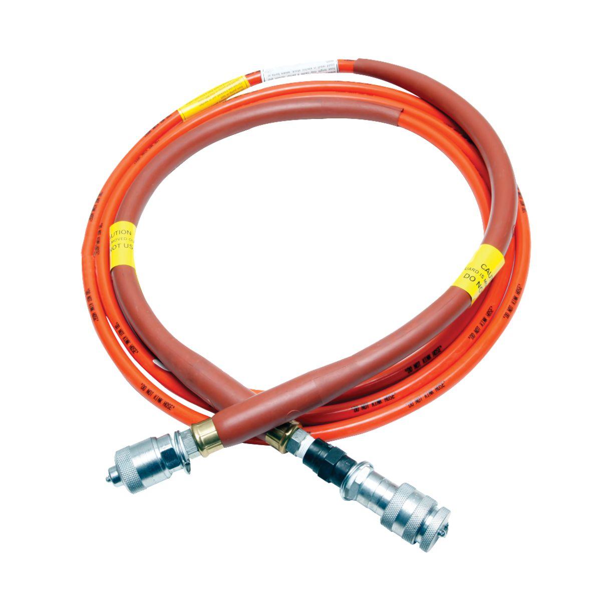 "Burndy PT29900-10 Non-Conductive Hydraulic Pump Hose, 3/16"" x 10ft"
