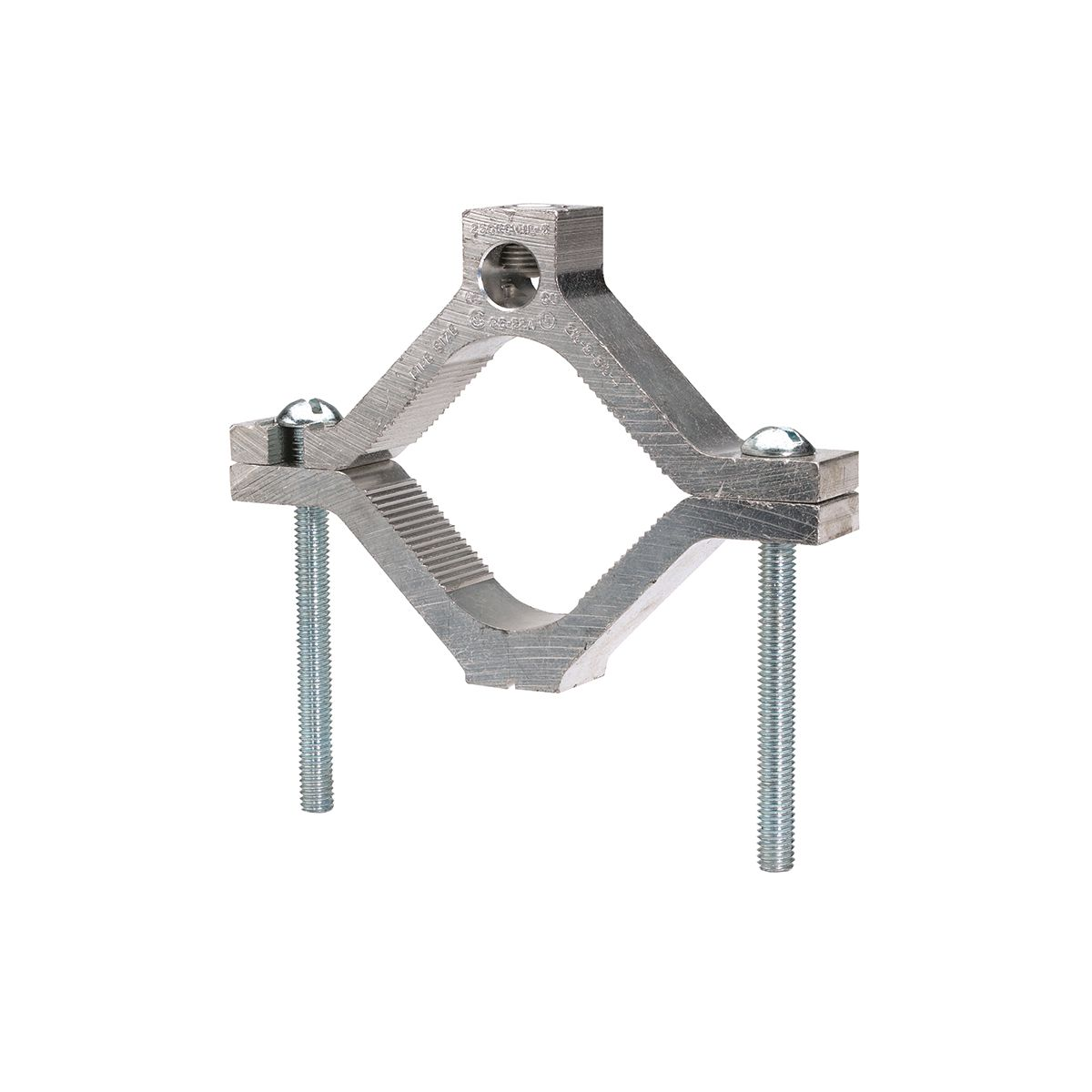 BURNDY GC18A 250-6 1 1/4-1 1/2-2PIPE GROUND CLAMP GC-A DUAL RATED