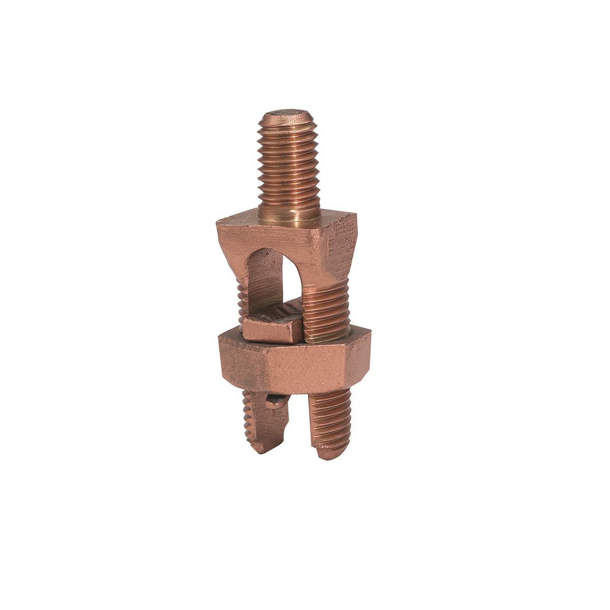 Burndy KC31B1 #1str-350MCM Copper Mechanical Ground Connector - Copper Cable to Flat Terminal
