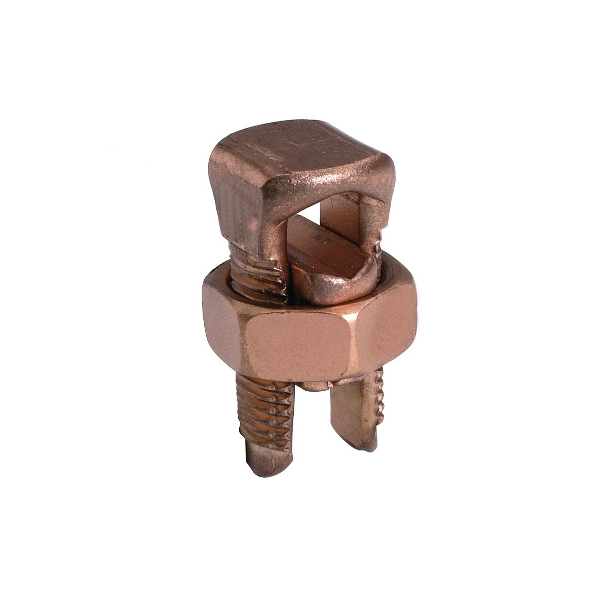 Burndy KS17-3 #8str-#6sol Copper Mechanical Split Bolt Connector