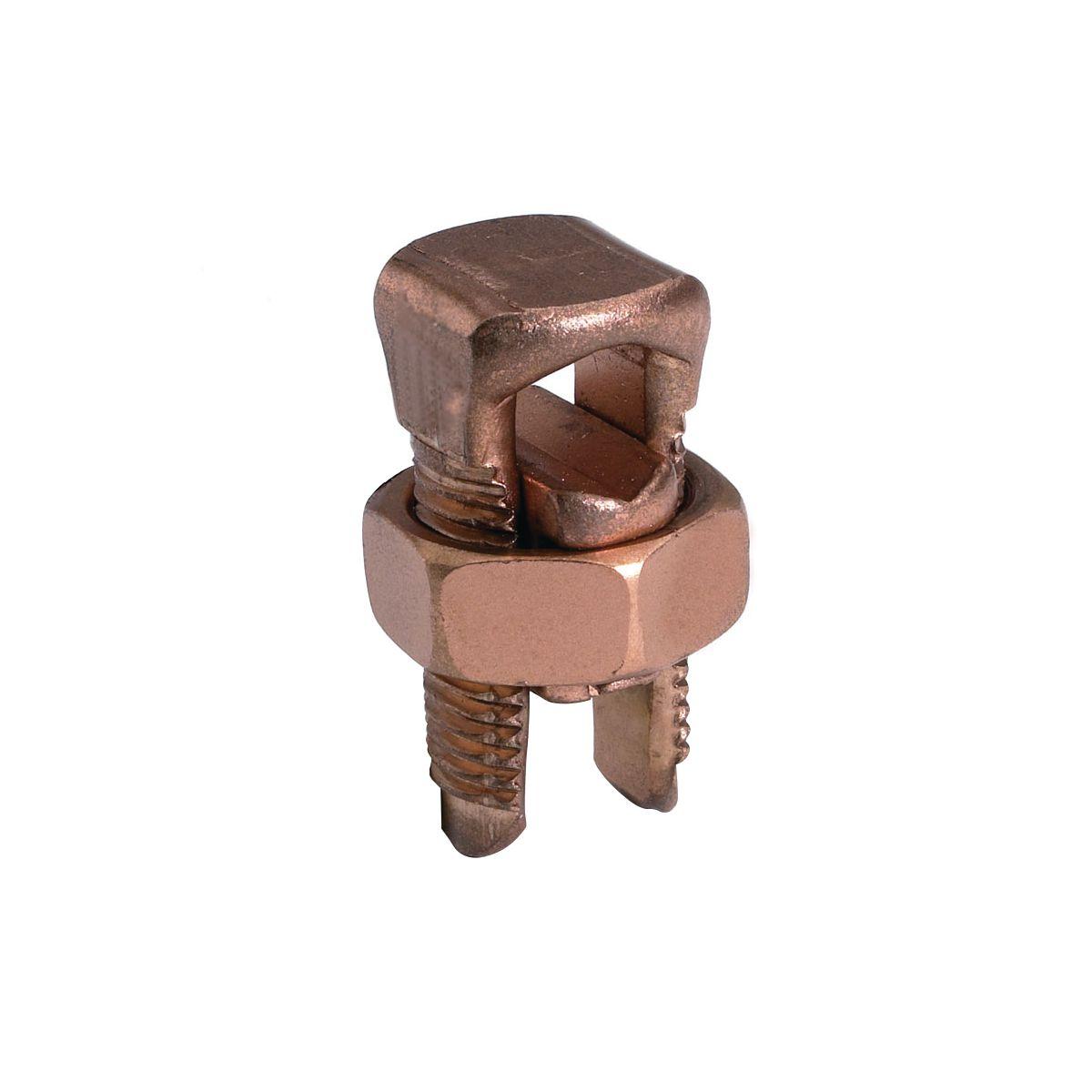 Burndy KS22-3 #6str-#2sol Copper Mechanical Split Bolt Connector