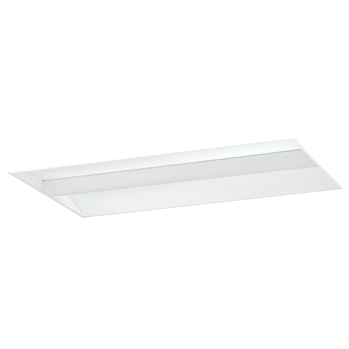 LCAT22-40MLG-EDU COLUMBIA LIGHTING, 2'X2' LED CONTEMPORARY ARCHITECTURAL TROFFER, 4000K, 3326 LUMENS, 0-10V DIMMING, 120-277V